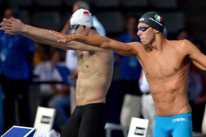 Gregorio-Paltrinieri-Sun-Yang-nuoto-Barcellona-2014-foto-Lapresse-Gian-Mattia-DAlberto-ricevuta-da-ufficio-stampa-Arena.jpg