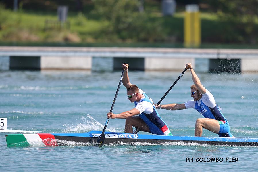 Canoa velocità, Coppa del Mondo Szeged 2021: Alessandro Gnecchi va in Finale nel K1 500