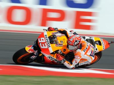 MotoGP, GP Valencia 2015, warm-up: Marquez velocissimo. Lorenzo 2°, Valentino Rossi 4°