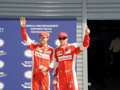 """F1, GP Germania 2016 – Sebastian Vettel: """"Ho avuto troppi alti e bassi""""; Raikkonen: """"Più di cosi non si poteva fare"""""""