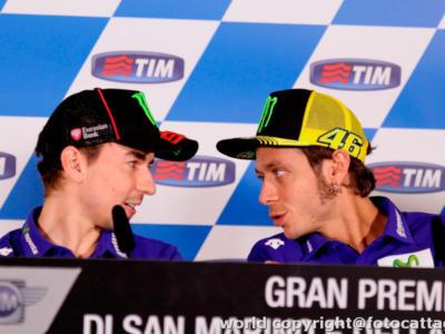 """MotoGP, Jorge Lorenzo attacca Valentino Rossi: """"Distorce la realtà. Sappiamo la sua influenza sui media italiani"""""""