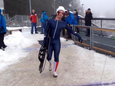 """Skeleton, Mattia Gaspari: """"Devo rimanere molto attento al tendine. Ho lavorato ad una nuova partenza"""""""