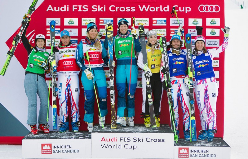 Freestyle-Skicross-Kelsey-Serwa-CAN-Jean-Frederic-Chapuis-FRA-Anna-Holmlund-SWE-Victor-Oehling-Norberg-SWE-Andrea-Limbacher-AUT-Sylvain-Miaillier-FRA-and-Alizee-Baron-FRA.-FIS-Freestyle-Skiing.jpg