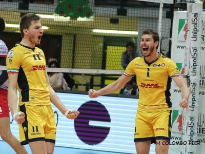Volley, SuperLega – 20^ giornata. Civitanova e Modena a distanza: crocevia primo posto, Trento ci prova da dietro