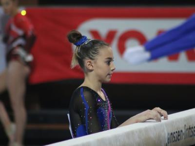 Ginnastica, Serie A – Giorgia Villa Reginetta di giornata a Rimini: neo junior batte tutte, sognando le Olimpiadi