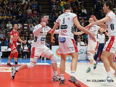 Volley, Champions League – Trento soffre ma trionfa in Belgio al tie-break! Verona ok in Challenge