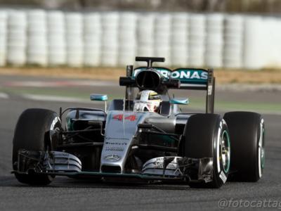 F1, GP Bahrain 2016: la griglia di partenza. graffio di Hamilton, Rosberg 2° e Vettel 3°
