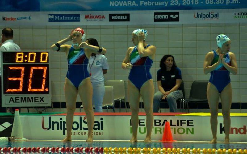 Setterosa ko con Ungheria, azzurre al sesto posto
