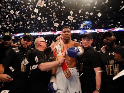 Boxe: Anthony Joshua conserva il titolo mondiale dei massimi