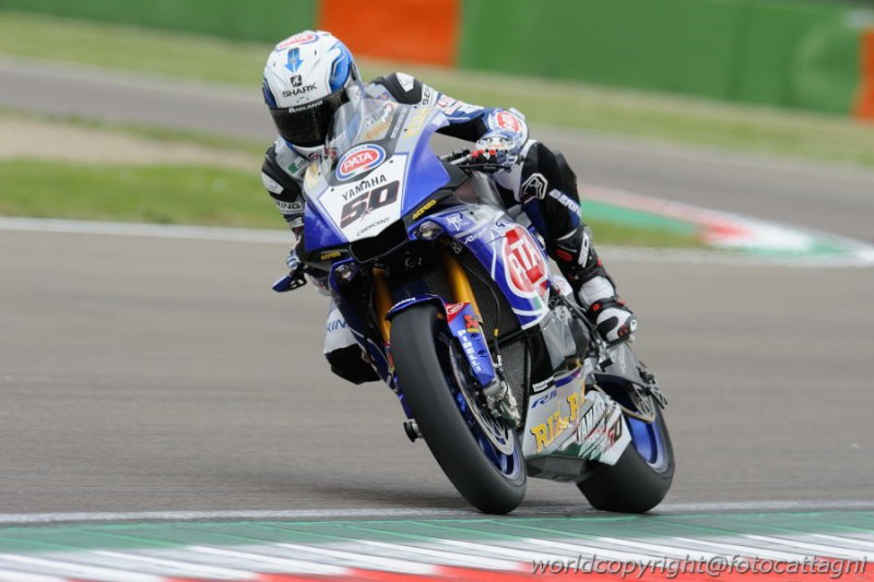 MotoGP UFFICIALE Sylvain Guintoli a Le Mans con Suzuki