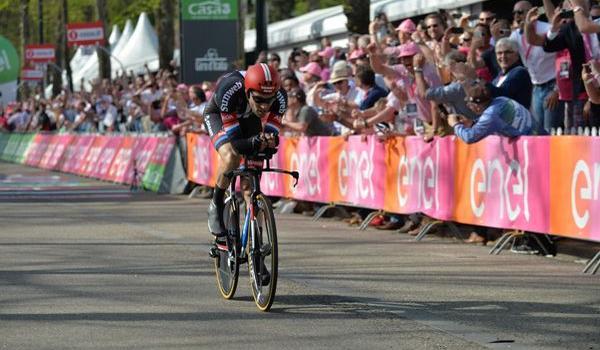 """Giro d'Italia 2016, Tom Dumoulin: """"Giornata di grande sofferenza, mi sento un uomo fortunato"""""""