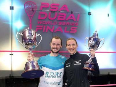 Squash: Grégory Gaultier e Laura Massaro vincono il British Open 2017