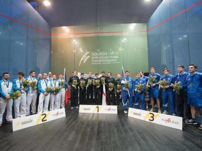 Squash, Europei a squadre 2016: l'Inghilterra torna a dominare, doppia vittoria sulla Francia