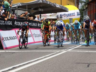 Ciclismo femminile, Giro Rosa 2016: sprint vincente di Cromwell nella quarta tappa. Confalonieri e Biannic battute