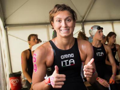 Nuoto di fondo, Europei 2018: Rachele Bruni è bronzo nella 5 km. Dominio dell'olandese Van Rouwendaal
