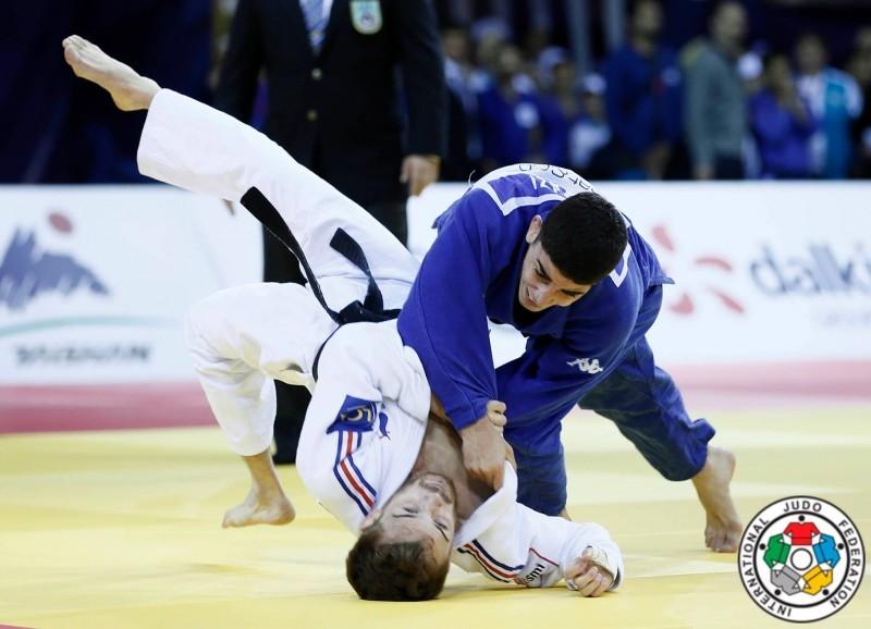 Judo, Mondiali Budapest 2017: Matteo Marconcini medaglia d'argento nei -81 kg