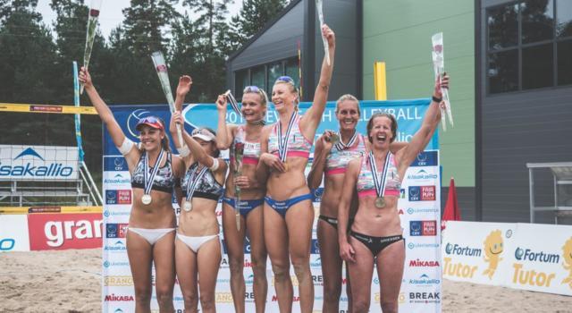VULCANO - Finali europeo U20 Beach Volley: Doppio Oro per