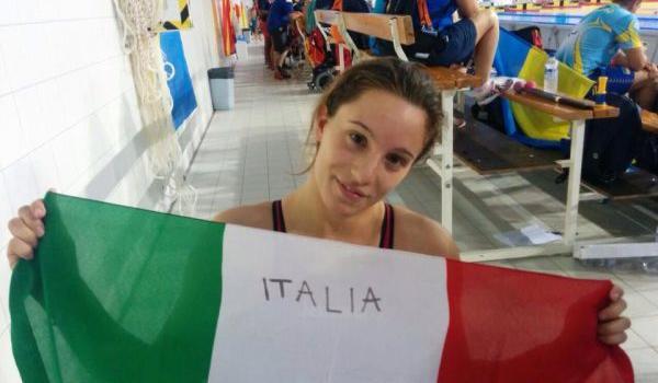 Nuoto paralimpico, Mondiali 2019: doppio oro per Arianna Talamona! Vittorie nei 50 farfalla e nei 200 misti