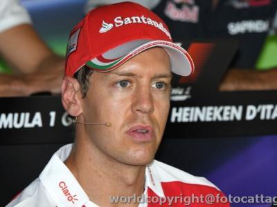 """F1, GP Bahrain 2017 – Sebastian Vettel: """"Ero soddisfatto del mio giro in Q3, ma quando ho visto il tempo sono rimasto deluso… Domani combatteremo!"""""""