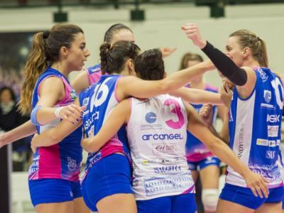 Volley femminile, Serie A1 – Nona giornata: Bolzano batte Monza nella sfida salvezza. Bartsch e Popovic decidono l'anticipo