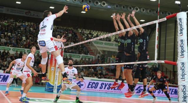 Volley, CEV Cup – Trento corsara in Finlandia: 3-0 al Loimaa, ipotecata la qualificazione agli ottavi
