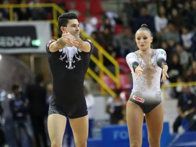Ginnastica aerobica, European Games 2019: tripudio azzurro! Castoldi e Donati vincono l'oro da Campioni del Mondo