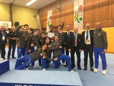 Ginnastica, l'Italia maschile riparte dagli U18: sconfitta la Germania a domicilio, Patron vince l'all-around