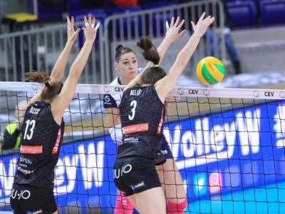 Volley femminile, Champions League – Modena firma il colpaccio: steso il Police a domicilio! Al comando con Conegliano