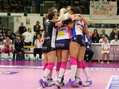 Volley femminile, Coppa Italia 2017 – Oggi le semifinali: big match Conegliano-Novara, Modena e Scandicci sfida delle sorprese