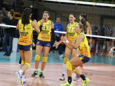 Volley femminile, Champions League – Stasera il derby tra Modena e Conegliano: Pantere già alla Final Four, bianconere per il pass. Pomì e Busto in CEV Cup