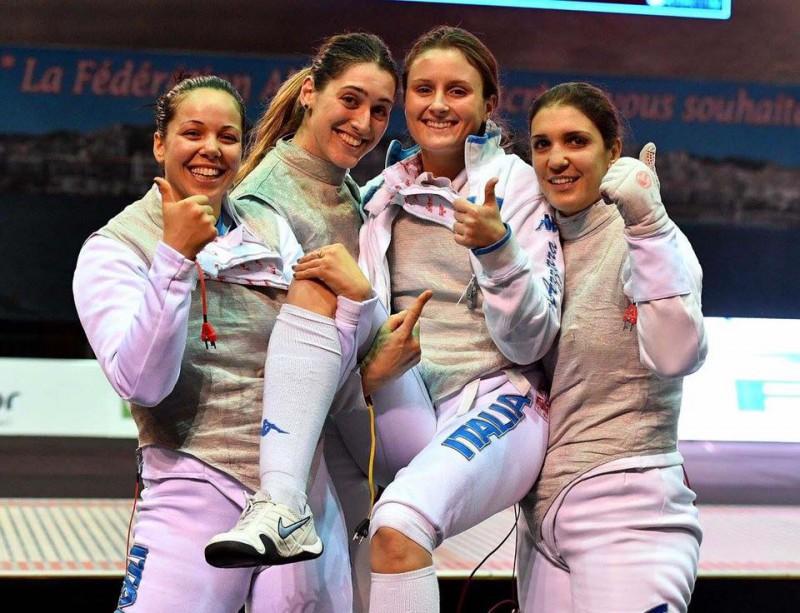Mondiali Scherma, oro Italia nella sciabola femminile