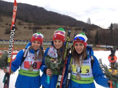 Biathlon, Mondiali youth 2017: Comola, Lardschneider e Vigna conquistano il bronzo nella staffetta, quarti gli azzurri