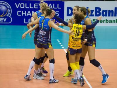 Volley femminile, Champions League – Conegliano perde in casa: passa il Police, quarti di finale a rischio