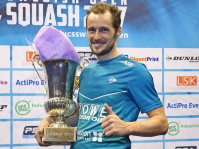 Squash: Grégory Gaultier torna al comando nel ranking mondiale di giugno 2017