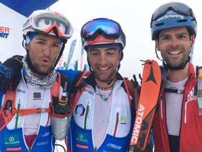 Sci alpinismo, Coppa del Mondo 2017: Damiano Lenzi e Laëtitia Roux vincono l'individuale di Prato Nevoso