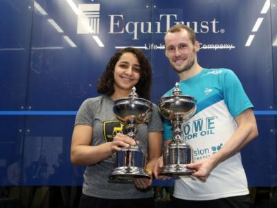 Squash, Windy City Open 2017: successi per Grégory Gaultier e Raneem El Weleily a Chicago