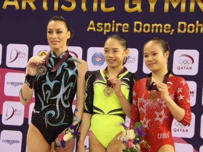 Ginnastica, Coppa del Mondo – Che doppietta di Liu a Doha! Battuta Catalina Ponor alla trave