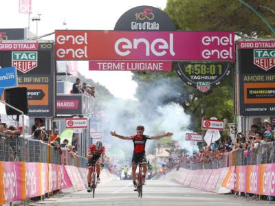 Giro d'Italia 2017: le pagelle della sesta tappa. Che sfida Dillier-Stuyven, il gruppo dorme…