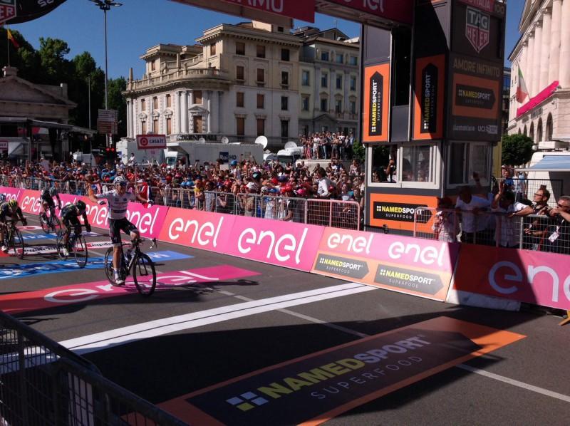 (VIDEO) Giro d'Italia. Finalmente Nibali: 'Lo Squalo' trionfa a Bormio
