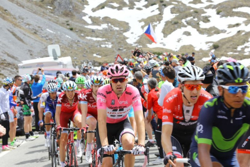 Giro:17/a tappa, a Canazei vince Rolland