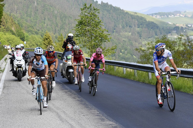 Giro d'Italia: Landa vince la 19esima tappa, Quintana nuova maglia rosa