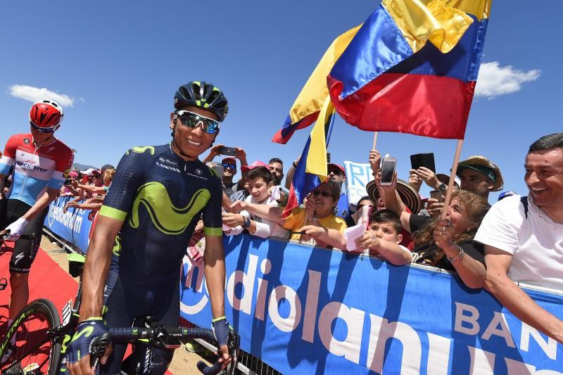 Giro d'Italia 2017, Nairo Quintana da dominatore