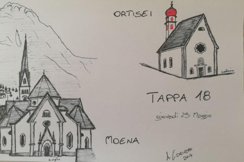 Giro d'Italia 2017, presentazione 18^ tappa: Moena-Ortisei, 137 km