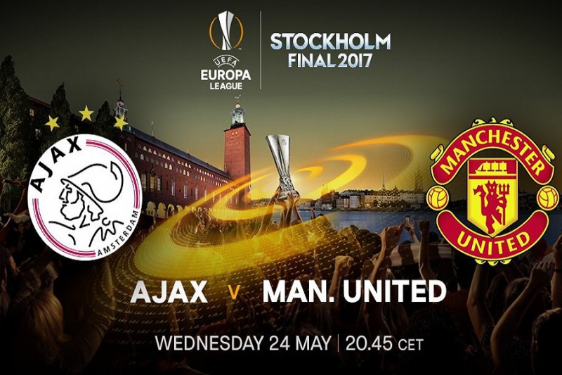 Europa League, Manchester United-Ajax in chiaro su Tv8