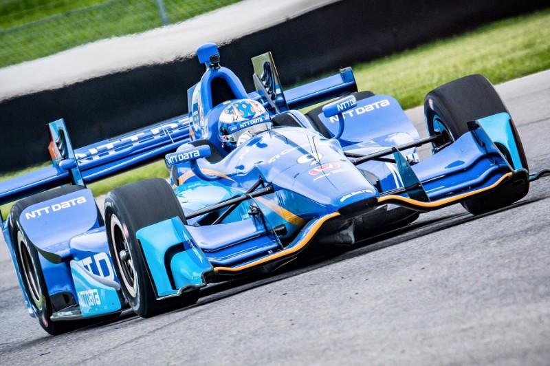 Indy 500 2017: Castroneves in testa nell'ultimo turno di libere. Alonso 5°