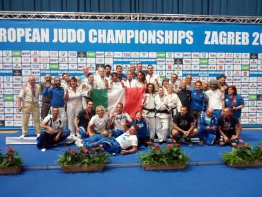 Judo, Europei Veterani 2017: tre medaglie azzurre nelle prove a squadre