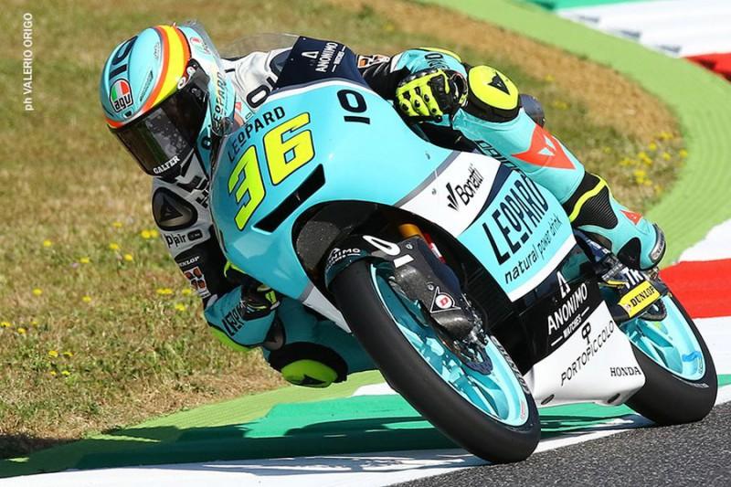 Moto3 Gp Brno, FP2: pista più asciutta, Mir fa il miglior tempo