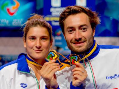 Tuffi, Mondiali Budapest 2017: il sincro misto Bertocchi-Verzotto vuole chiudere in bellezza