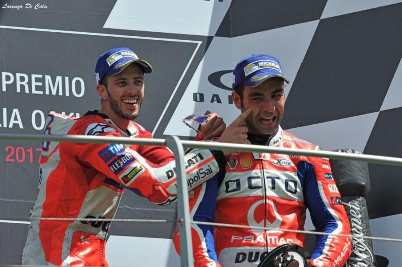 Moto GP, Assen: Petrucci davanti a tutti. Dovizioso quarto