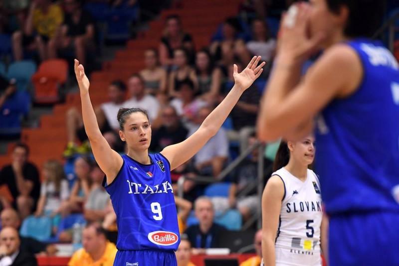 L'azzurra Cecilia Zandalasini nel miglior quintetto dell'EuroBasket Women 2017